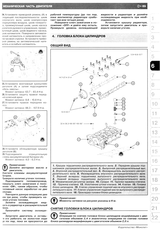 Книга по ремонту Хундай Соната