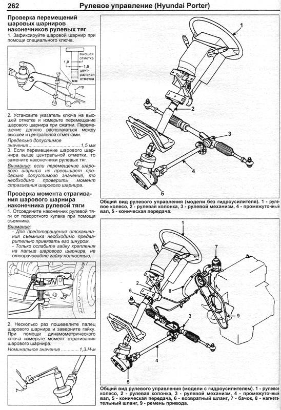 скачать инструкция по ремонту и эксплуатации hyundai porter h100