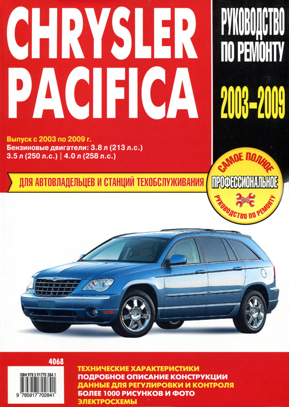 ремонту Chrysler Pacifica
