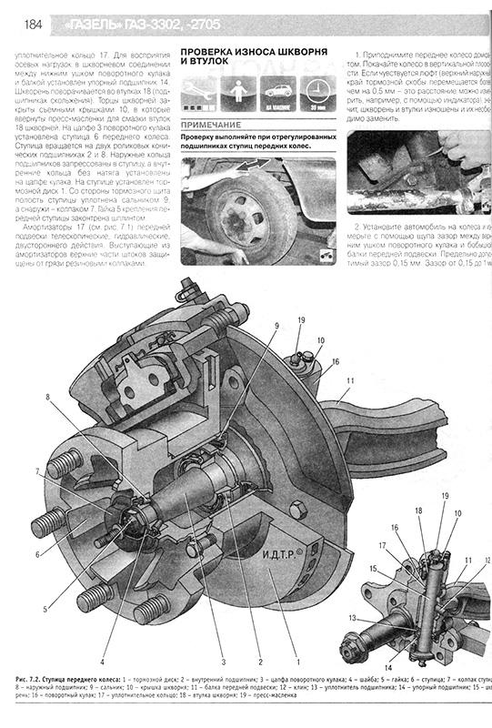 газ 3302 инструкция по эксплуатации