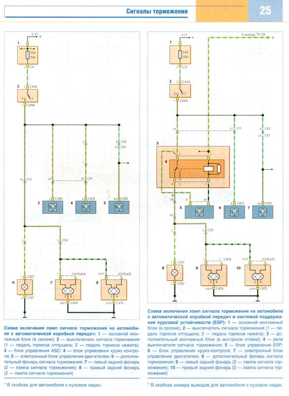 Схема электрооборудования фокус 2.