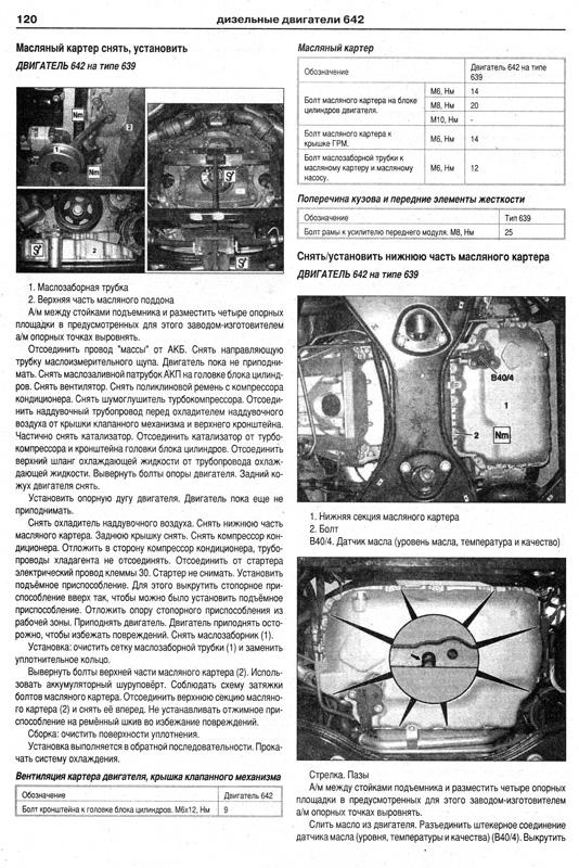 Книга по ремонту MERCEDES VITO / VIANO 2003-2008 бензин / дизель