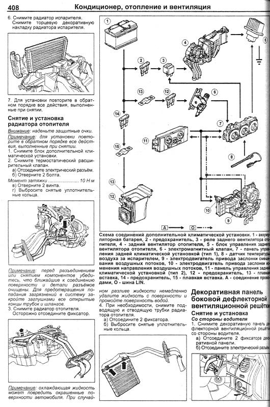 электрическая схема tucson