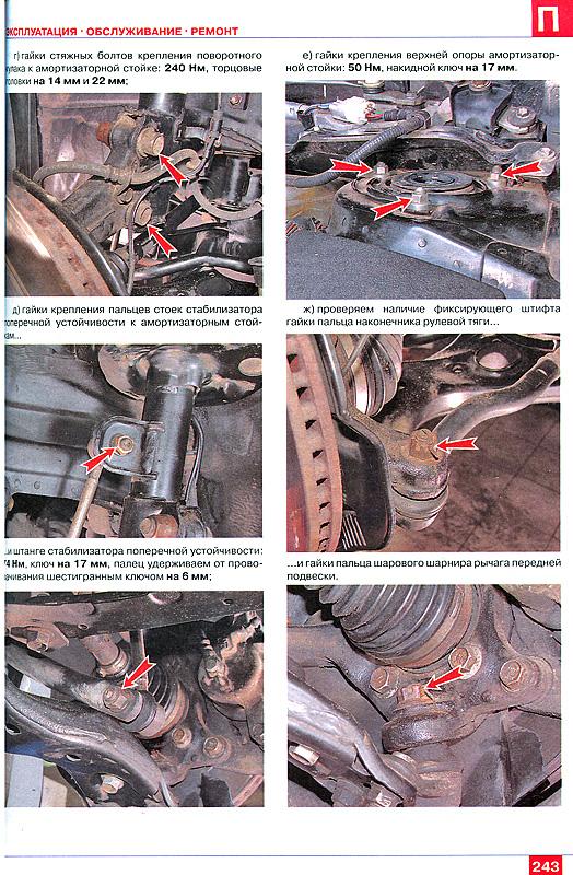 Инструкция по ремонту Тойота Королла, Тойота Аурис, а также устройство Тойота Королла, Тойота Аурис...