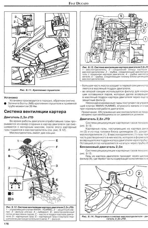 скачать инструкцию по ремонту фиат дукато 1990