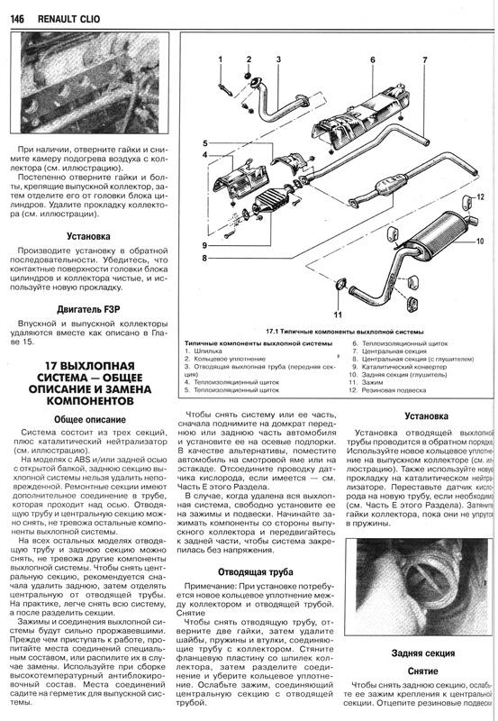 по ремонту Рено Клио 1