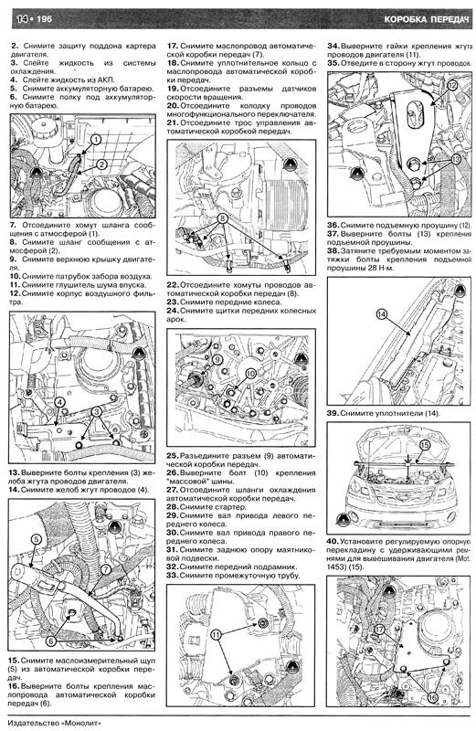 колеос по ремонту инструкция рено