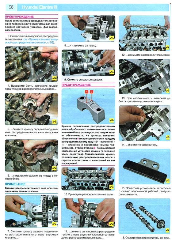 Руководство по ремонту Hyundai Elantra III, а также руководство по эксплуатации и техническому обслуживанию Hyundai...