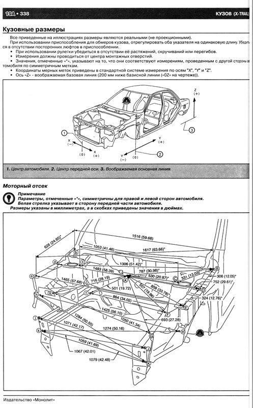 Nissan X-Trail T31, устройство Nissan Rogue / Nissan X-Trail T31, руководство по эксплуатации и... Руководство по...