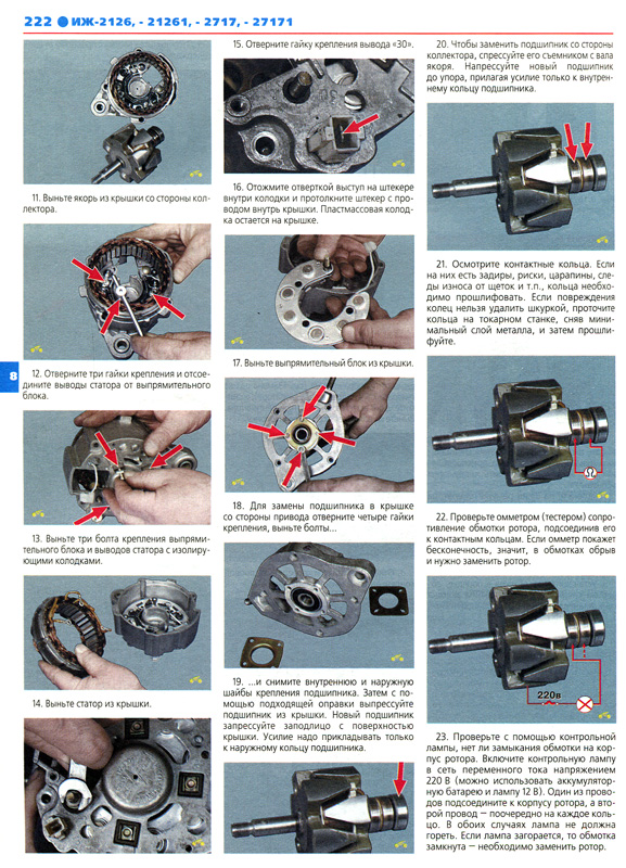 Инструкция Иж 2126