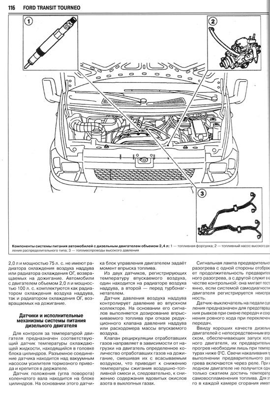 скачать руководство по эксплуатации форд транзит 1996г дизель