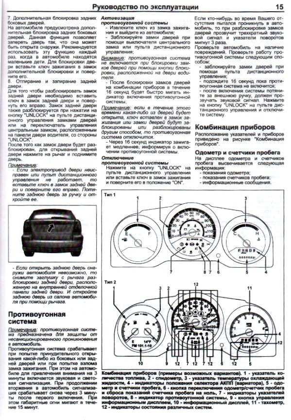 Электросхемы Додж Калибр
