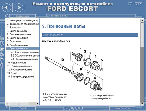 Ford Escort Руководство По Техническому Обслуживанию