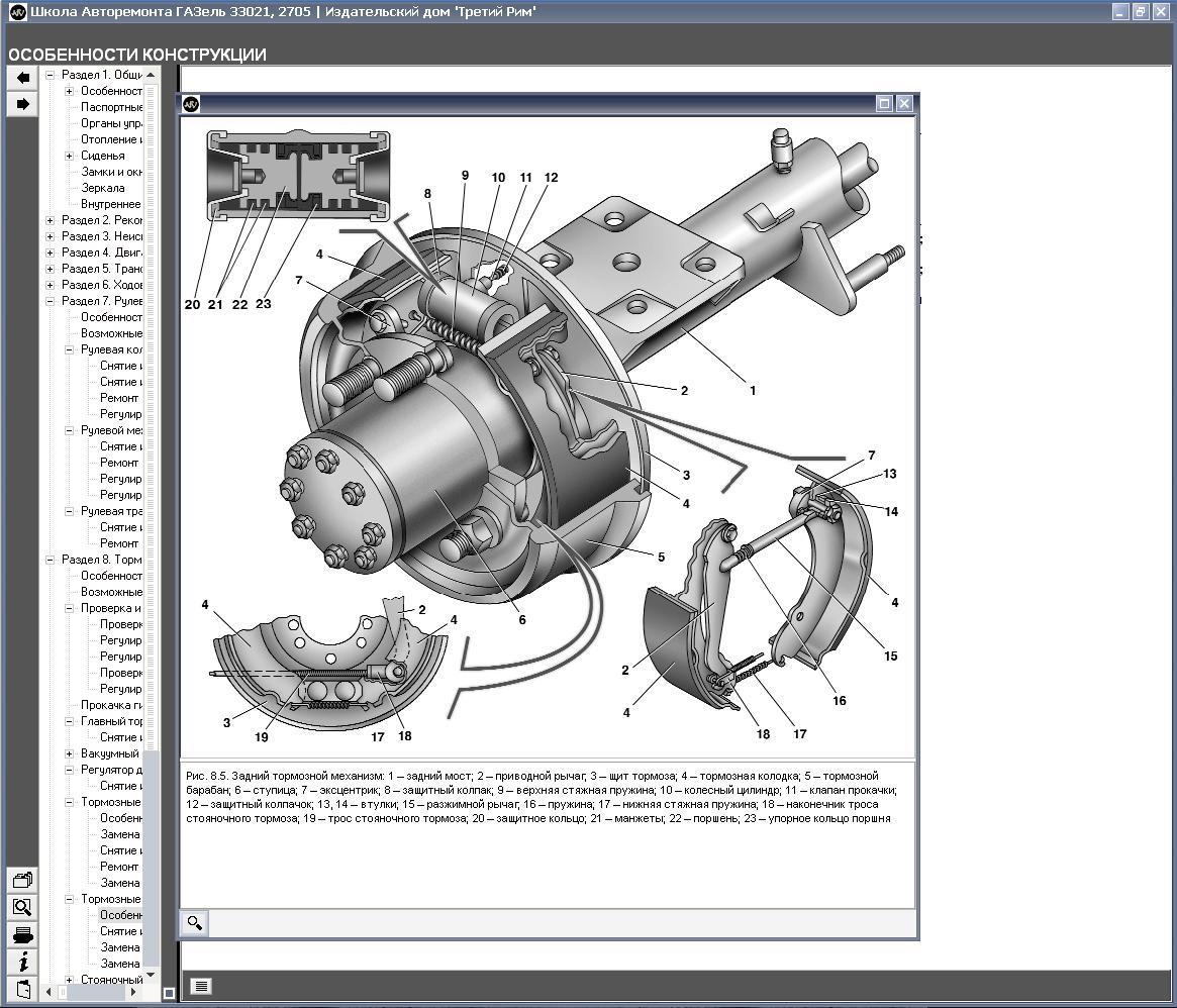 схема тормозной системы ман
