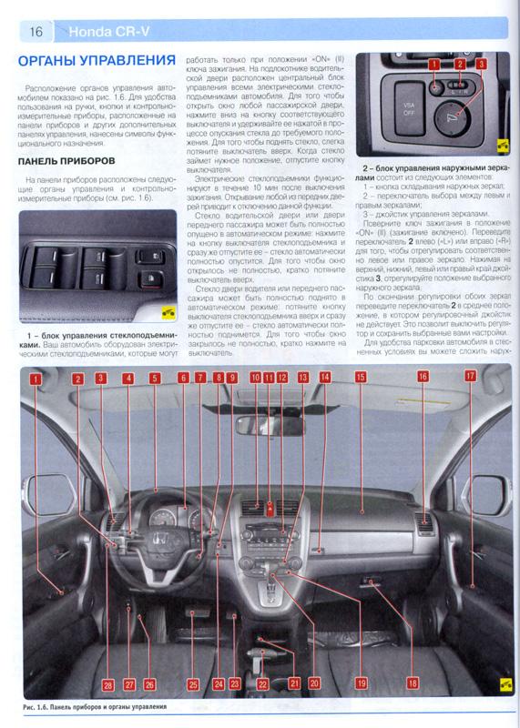 хонда срв 4 инструкция по эксплуатации
