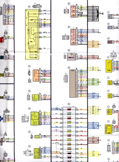 Электросхема Lada Kalina 11183