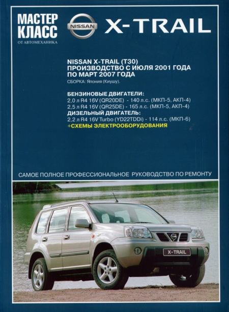 ������ ���������� Nissan X-Trail 2.2 Di 136hp MT - ����@Mail.Ru