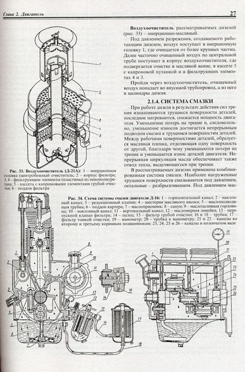 скачать руководство по ремонту тракторы т-16