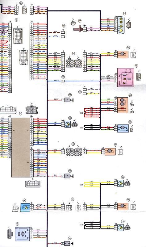 электросхема Лада Приора