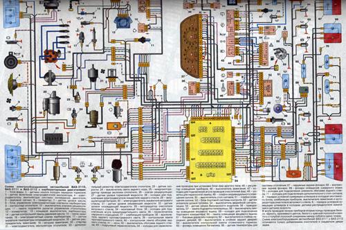 Электросхемы ВАЗ-2112