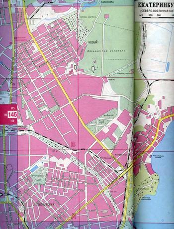 Содержание атласа: Схема расположения листов карты области 2-3 Карта Свердловской...