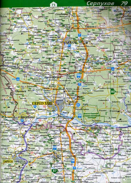 Расположения карт москвы схема расположения карт МО центральная часть города москвы в границах третьего кольца...