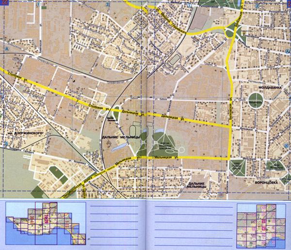 Атлас Одесса с каждым домом.  Компактный формат издания, подробный план города,обновленная сеть улиц.
