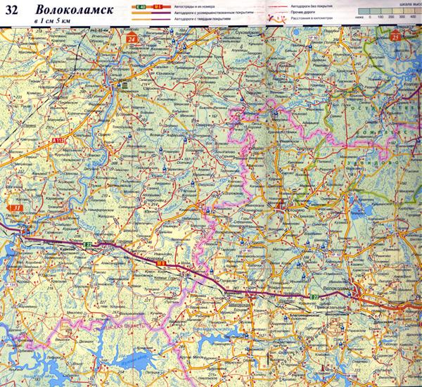 Карты Тверской области