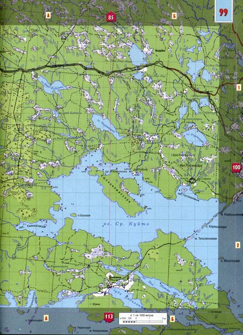 Атлас Северная часть Карелии