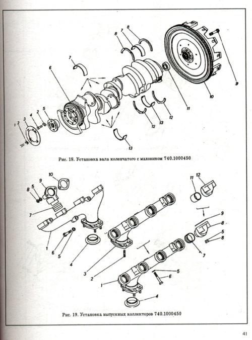 Каталог деталей, запасных частей и сборочных единиц автомобилей КамАЗ 6х4.  Пособие содержит всю номенклатуру...