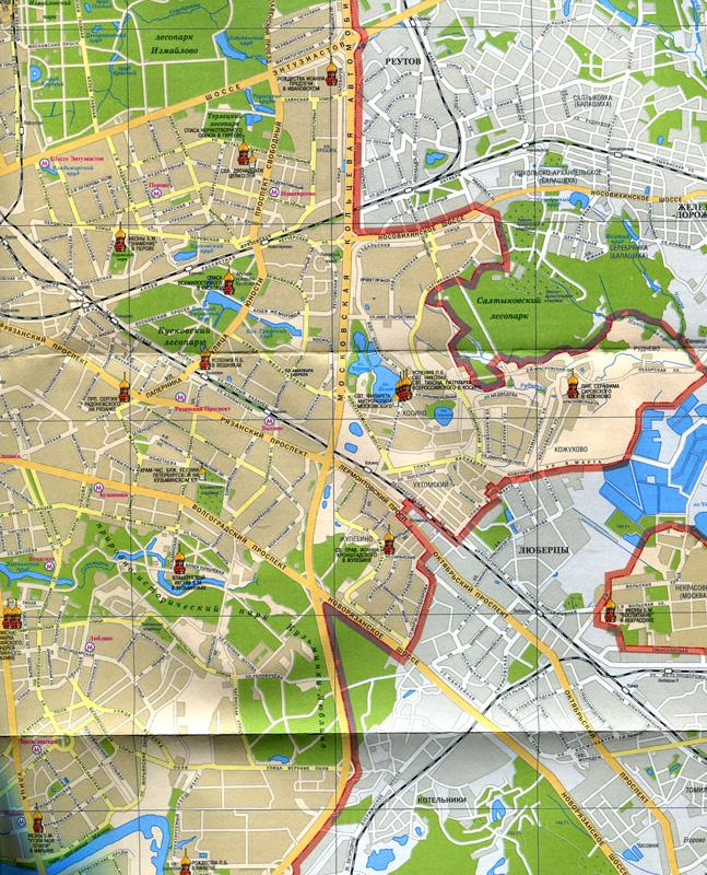 Москва Храмы и соборы