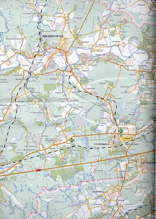 Одинцово карта Одинцово