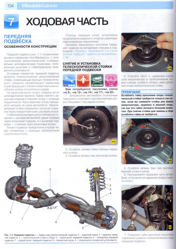 Книга будет полезна всем владельцам Мицубиси Лансер, выполняющим ремонт автомобиля любой сложности своими силами.