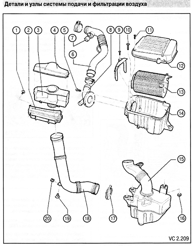 Руководство по ремонту, эксплуатации и техническому обслуживанию, устройство автомобилей Фольксваген Кадди с 2003 г...