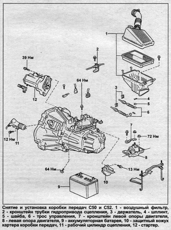 Руководство по ремонту и эксплуатации TOYOTA CARINA 1992-1998 бензин / дизель.