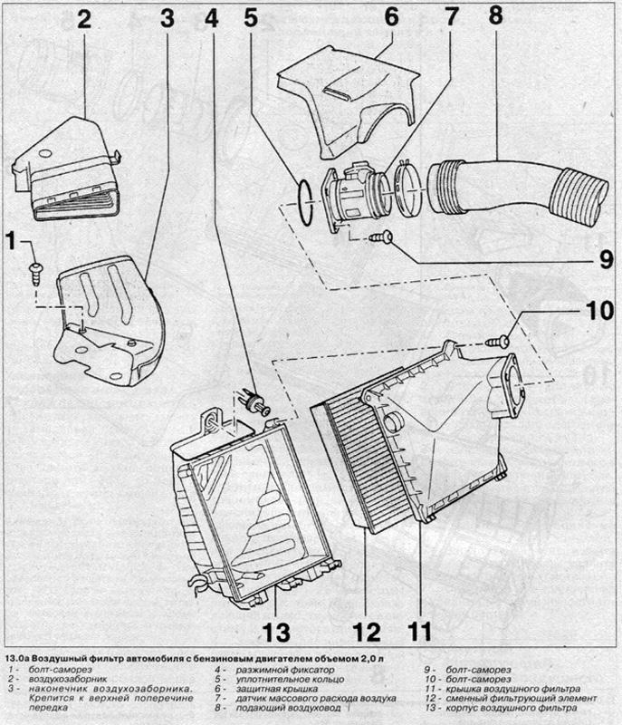Электросхемы Audi A4: