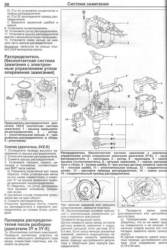 двигатель тойота 4y руководство по ремонту