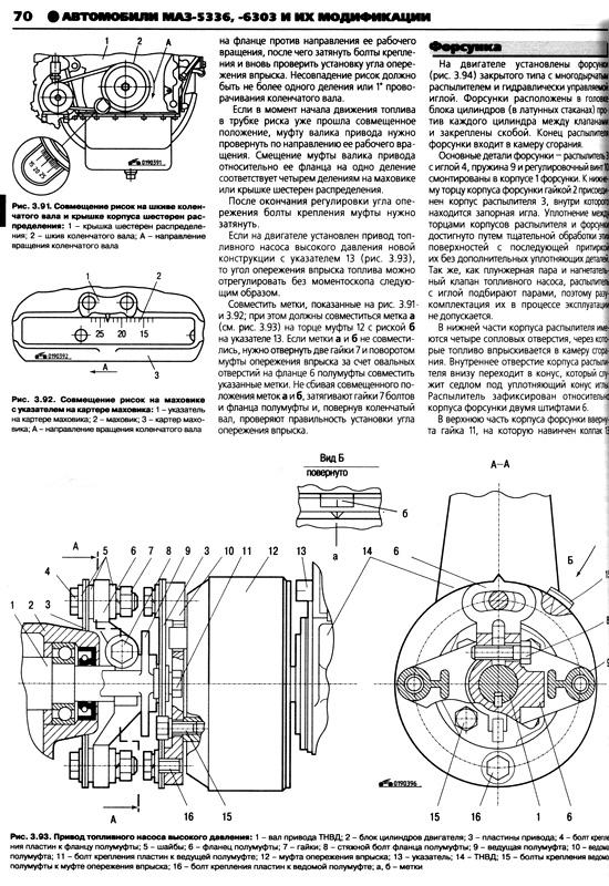 инструкция по ремонту МАЗ 5336