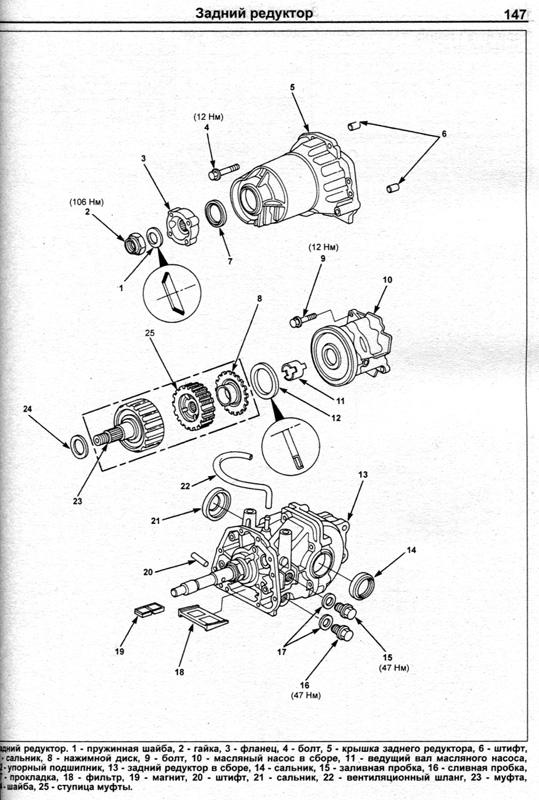 инструкция по ремонту Honda