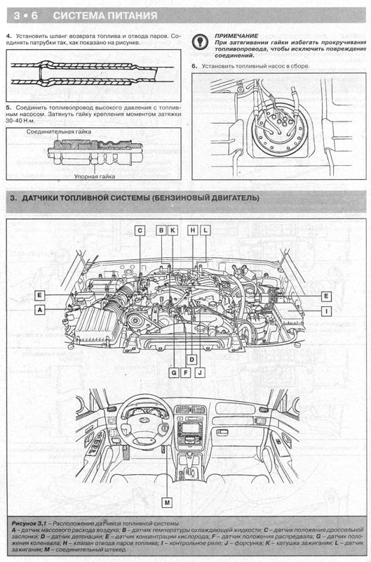 Руководство по ремонту HYUNDAI TERRACAN с 1999 бензин / дизель.