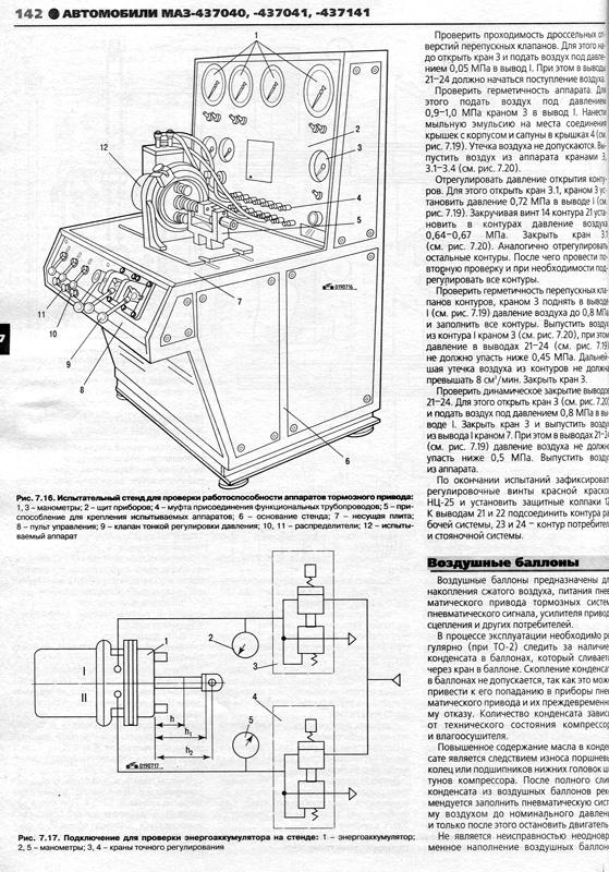 инструкция по эксплуатации МАЗ