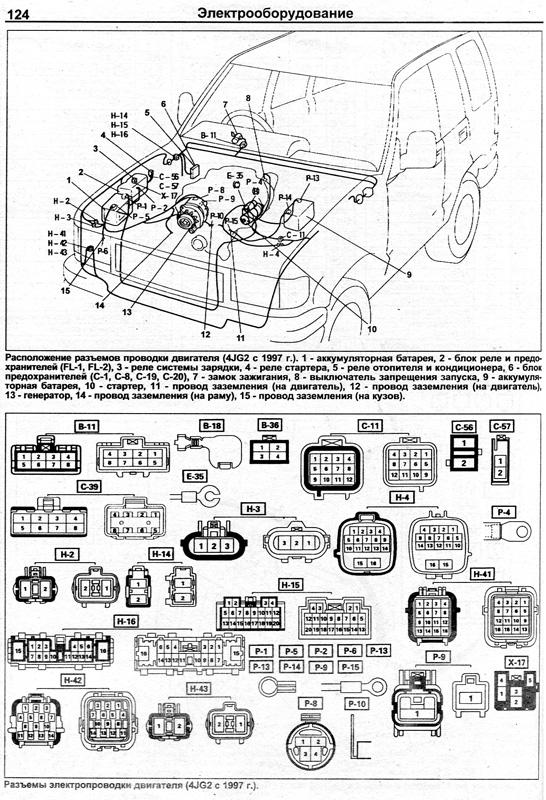двигателей Isuzu 4JA1