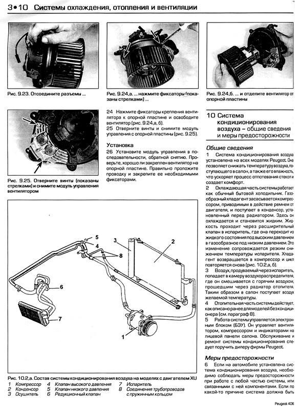 руководство по ремонту и эксплуатации автомобиля пежо 406 с фото