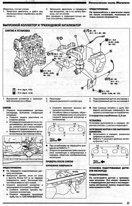 ремонту двигателей NISSAN