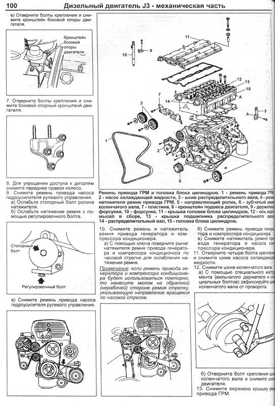 hundai terracan инструкция