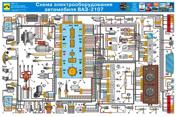 атомобилей ВАЗ 2107