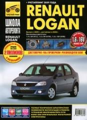 Инструкция по ремонту Renault Logan.