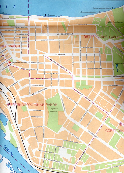 Самара карта Самары
