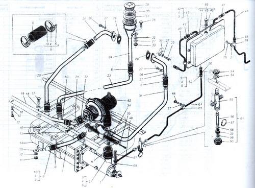 Каталог деталей и сборочных единиц тракторов Кировец К-701, К-700А Издание содержит полную номенклатуру деталей и...