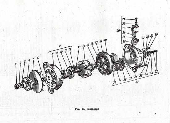 Каталог деталей ГАЗ 53А